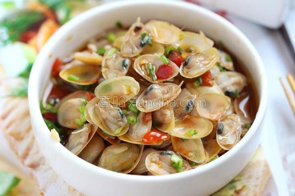葱油海瓜子的做法
