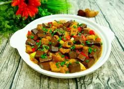 鸭血烧油豆腐