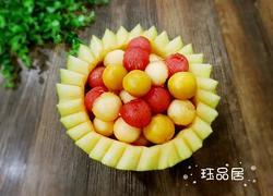 哈密瓜果盘