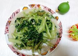 腐乳白通菜