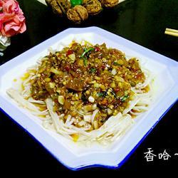 剁椒蚝油金针菇