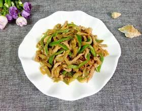 肉丝青椒炒榨菜