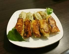 猪肉白菜锅贴