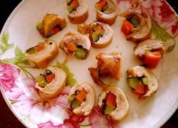 蔬菜鸡肉卷