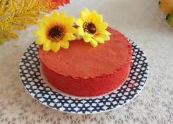 红丝绒戚风蛋糕