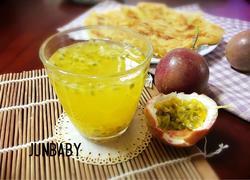 百香果蜂蜜汁