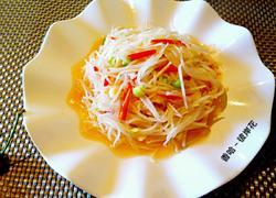 芥末油拌白萝卜