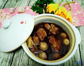桂圆荔枝红枣排骨汤