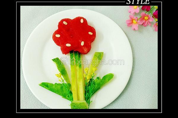 可爱西瓜花儿