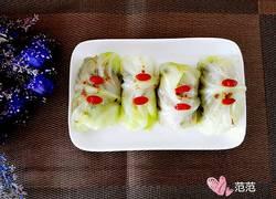 翡翠卷心菜包肉