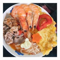 海鲜肥牛汤面的做法[图]