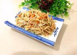 绿豆芽拌鸡丝