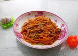 胡萝卜丝炒肉丝