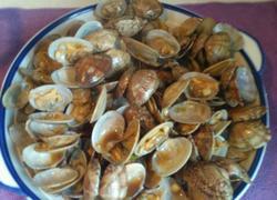 红烧蒜香花蛤