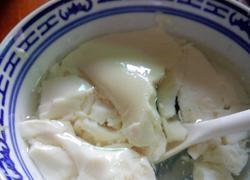 夏日佳品自制豆腐花