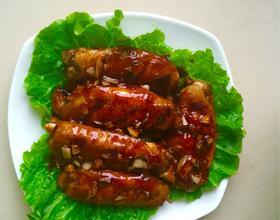 红糖蒜米鸡中翅