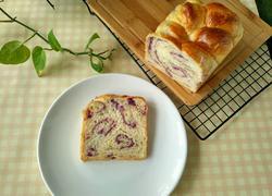 紫薯泥吐司面包