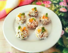 卷心菜糯米丸子
