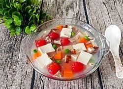 五彩豆腐羹