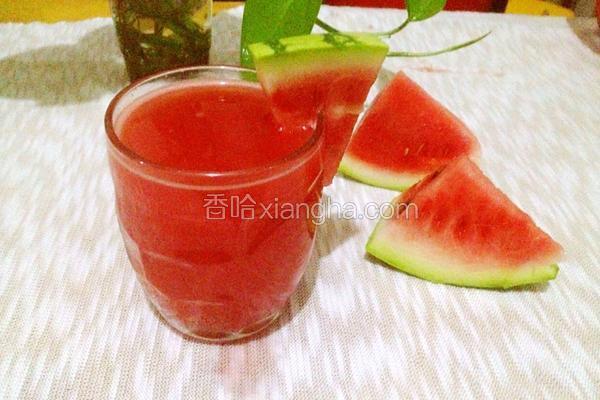 蜂蜜西瓜汁