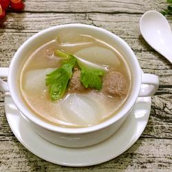 牛肉丸白萝卜汤的做法[图]