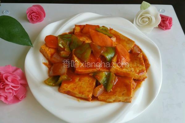 韩式溜豆腐
