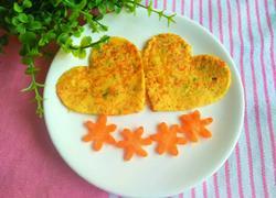 彩椒鸡蛋饼