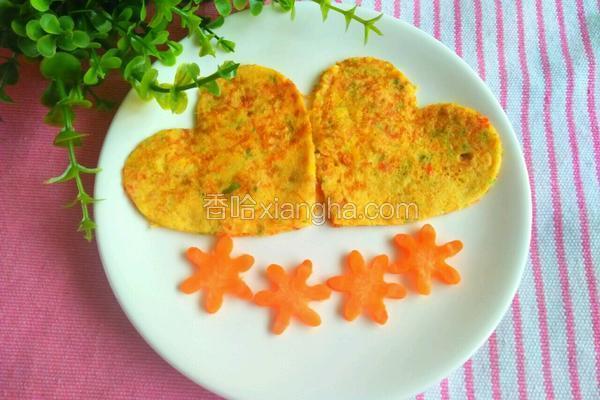 彩椒雞蛋餅