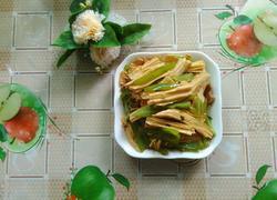猪肉炒腐竹