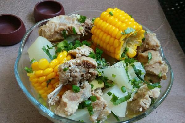 萝卜玉米骨头汤