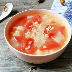 西红柿萝卜汤的做法[图]