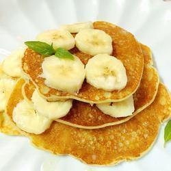 香蕉美式煎饼