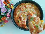 彩椒鲜虾披萨的做法[图]
