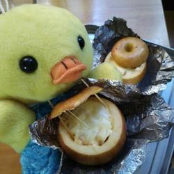 芝士烤苹果