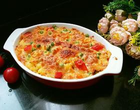蔬菜焗饭[图]