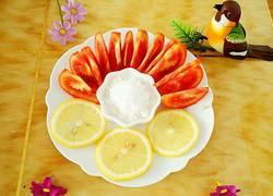 冰柠檬番茄甜品
