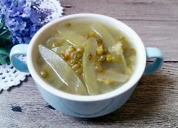 西瓜皮绿豆甜汤