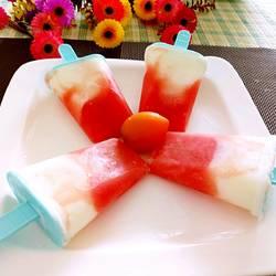 西瓜酸奶雪糕