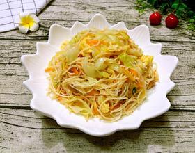 卷心菜炒面线
