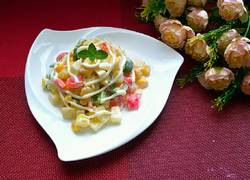彩椒玉米沙拉