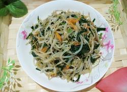 韭菜炒绿豆牙