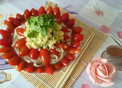 #圣女果# 圣女果打卤热汤面