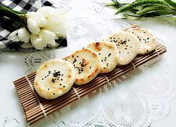 小馒头黑芝麻煎饼
