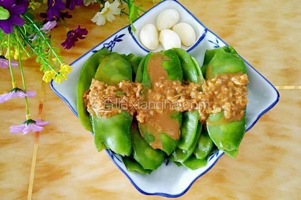 麻酱蒜香扁豆