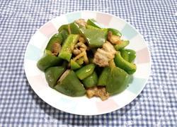 五花肉炒青椒