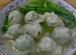 水煮韭菜饺子