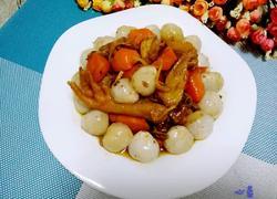 荔枝胡萝卜自制葡萄酒焖鸡
