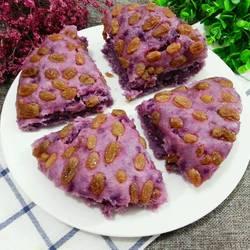 紫薯发糕的做法[图]