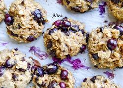 蓝莓黑巧燕麦饼干