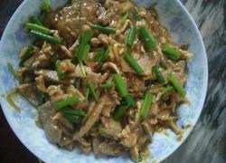 猪肝炒瘦肉